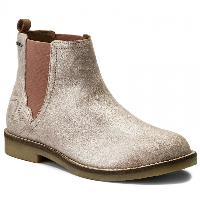 00f6c98c0e7ff2 Stiefeletten PEPE JEANS - Roy Chelsea PGS50103 Pink 319 ...