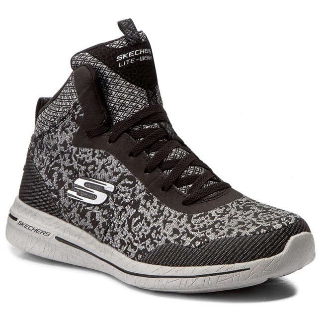 Sneakers SKECHERS-Fashion Forward 12655/BKSL Black/Silver Werbe Schuhe 96c3b1