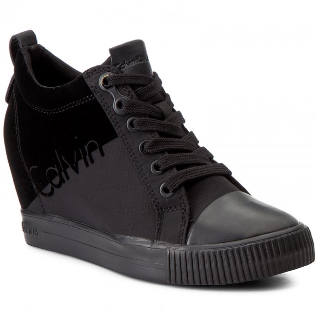 Sneakers CALVIN KLEIN JEANS-Rory R0647 Black/Black Werbe Schuhe
