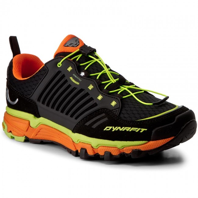 Schuhe DYNAFIT-Ms Feline Ultra 64022 Black/Fluo Yellow 0934