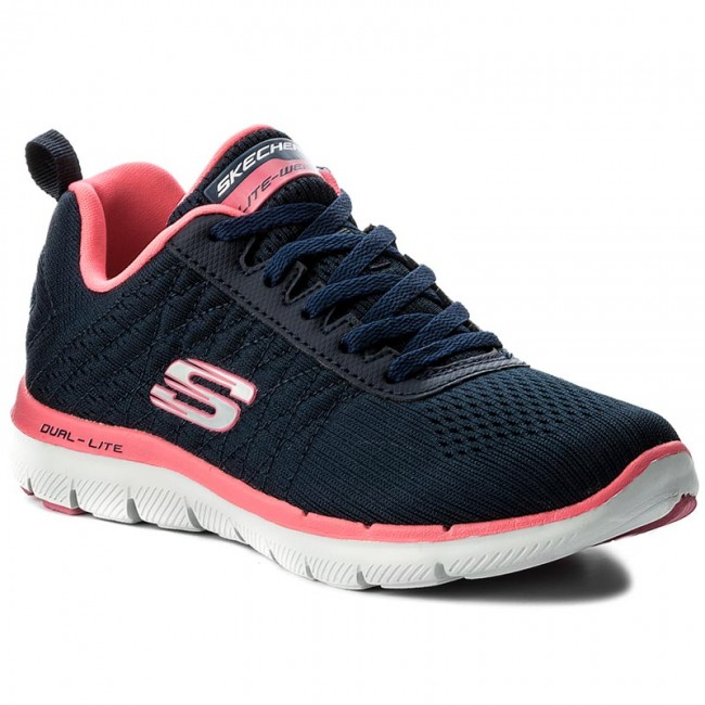 Schuhe SKECHERS                                                      Break Free 12757/NVHP Navy/Hot Pink 1d5201