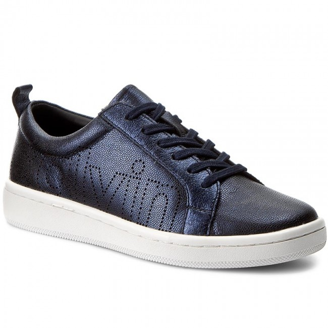 Sneakers CALVIN KLEIN BLACK LABEL-Danya E5591 Deep Navy Metal Werbe Schuhe