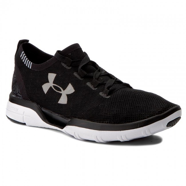Schuhe UNDER ARMOUR-Ua Charged Coolswitch Run 1285485-001 Blk/Wht/Wht Werbe Schuhe