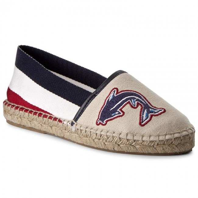Espadrilles TOMMY HILFIGER Sunny FW0FW01751 White 100