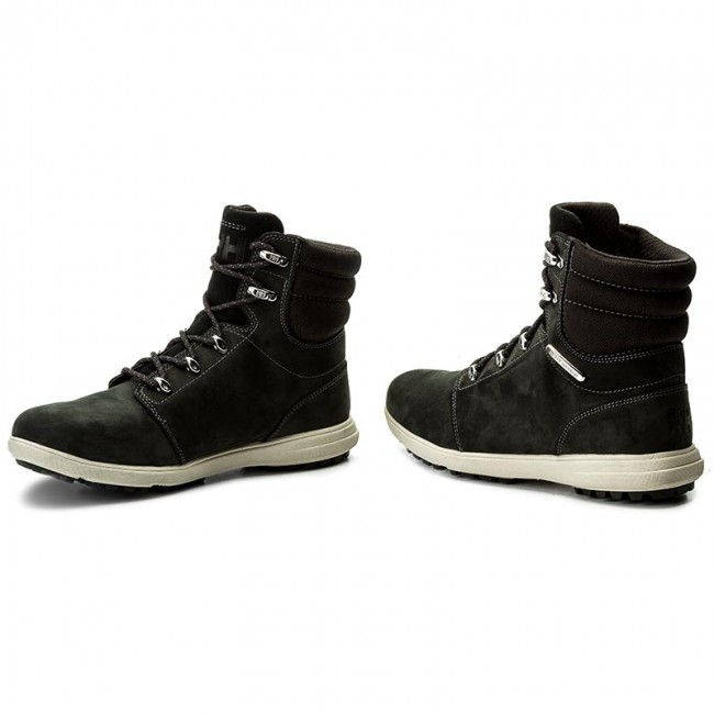 Trapperschuhe HELLY schwarz/Birch/Charcoal HANSEN-A.S.T 2 111-59.991 Jet schwarz/Birch/Charcoal HELLY cbf2a1