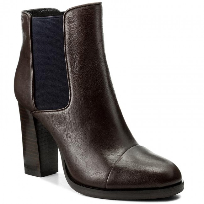 Stiefeletten JOOP! Platia 4140003580 Dark Brown 702