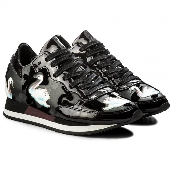 Sneakers PHILIPPE PHILIPPE PHILIPPE MODEL-Etoile TBLD NC02 Cignes Noir Werbe Schuhe 345497