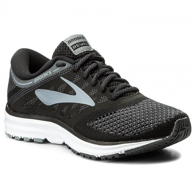 Schuhe BROOKS Revel 120249 1B 002 Black/ANthracite/Primer Grey