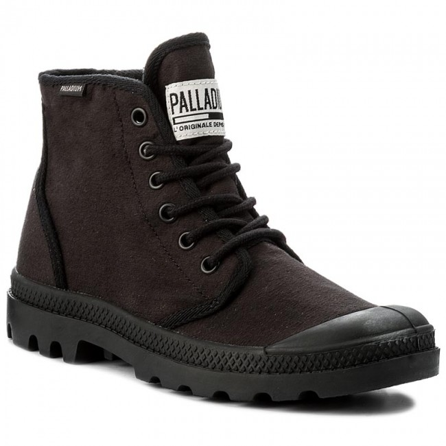 Trapperschuhe PALLADIUM-Pampa Hi Originale Tc 75554-060-M Black/Black