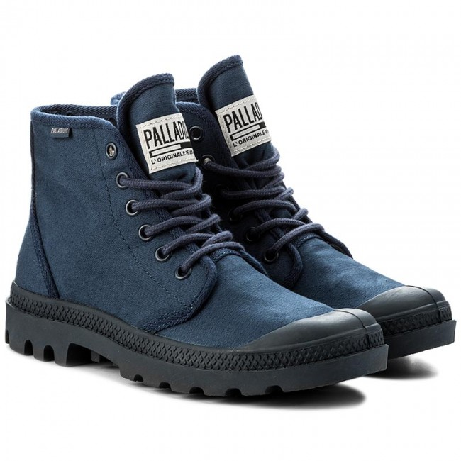 Trapperschuhe Originale PALLADIUM-Pampa Hi Originale Trapperschuhe Tc 75554-458-M Indigo/Total Eclipse 131d23