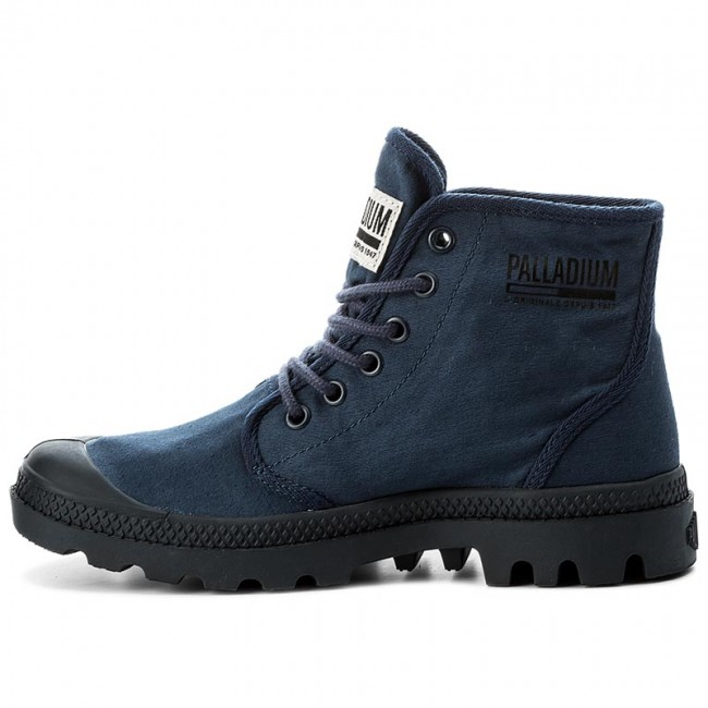 Trapperschuhe PALLADIUM-Pampa Hi Originale Tc Eclipse 75554-458-M Indigo/Total Eclipse Tc Werbe Schuhe 8089af