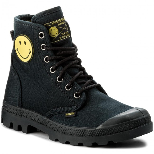 Trapperschuhe PALLADIUM                                                    Pampa Fest Pack 75581-091-M Anthracite 1