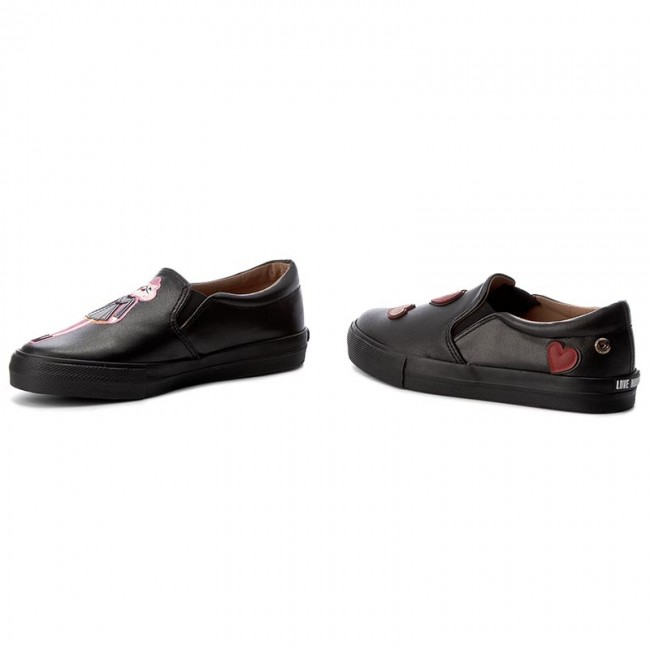 Turnschuhe LOVE MOSCHINO                                                      JA15153G14IF0000 Nero/Ric 9bb694
