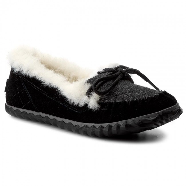 Halbschuhe SOREL-Out Black/Quarry N About Slipper NL2431 Black/Quarry SOREL-Out 010 Werbe Schuhe 915c90