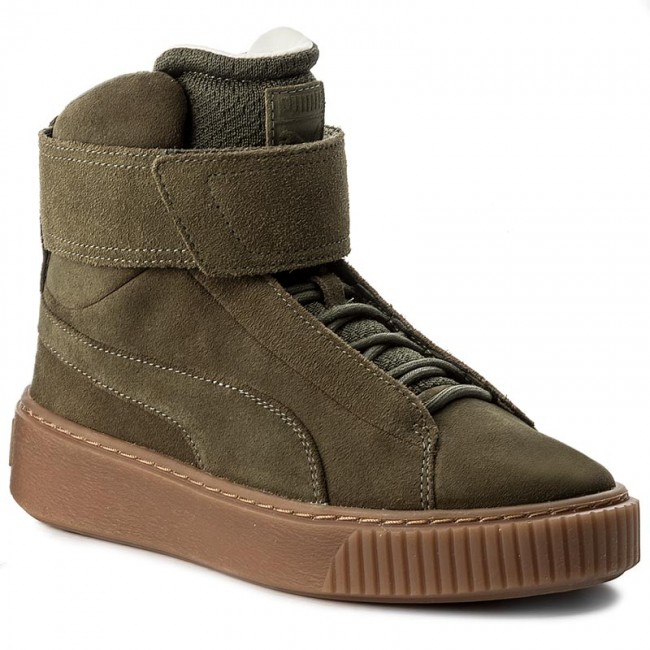 Sneakers PUMA Platform Mid Night Ow 364588 01 Olive Night Mid 1df57f