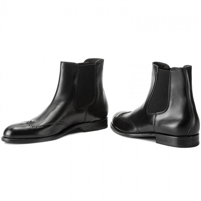 Stiefeletten BOSS-Manhattan 50374798 10201737 10201737 10201737 01 Black 001 747010