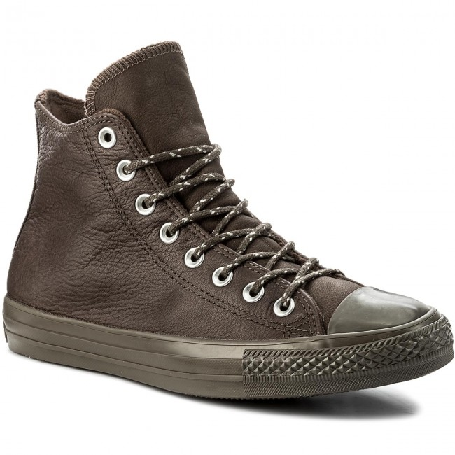 Sportschuhe CONVERSE-Ctas Hi 157513C Dark Chocolate/Dark Chocolate