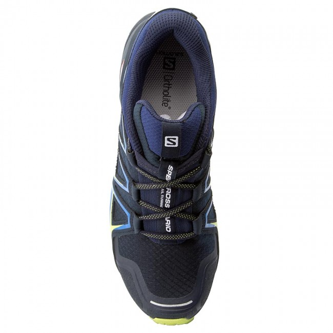 Schuhe SALOMON-Speedcross Vario 2 27 394524 27 2 V0 Navy Blazer/Nautical Blue/Lime Punch. 103011