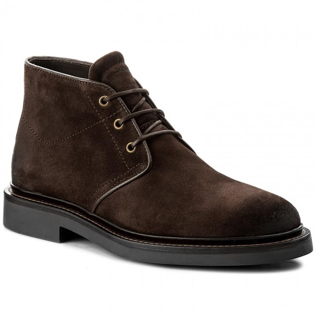 Schnürschuhe MARC O POLO-708 24106302 304 Dark Brown 790