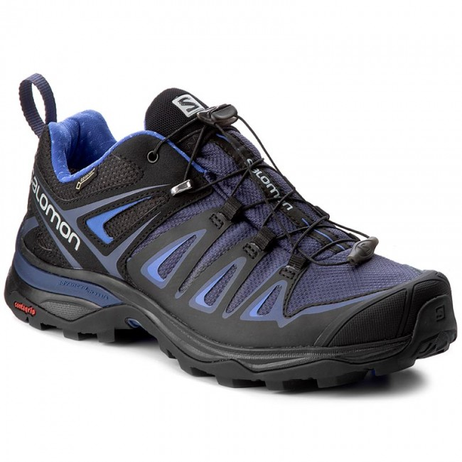 Trekkingschuhe SALOMON-X Ultra 3 Gtx W GORE-TEX 400027 24 V0 Crown Blue/India Ink/Amparo Blue Werbe Schuhe
