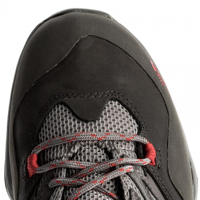 Trekkingschuhe THE NORTH FACE                                                    Hedgehog Hike GTX GORE-TEX NF0CDF4QDK Dark Gull Grey/Melon Red 085