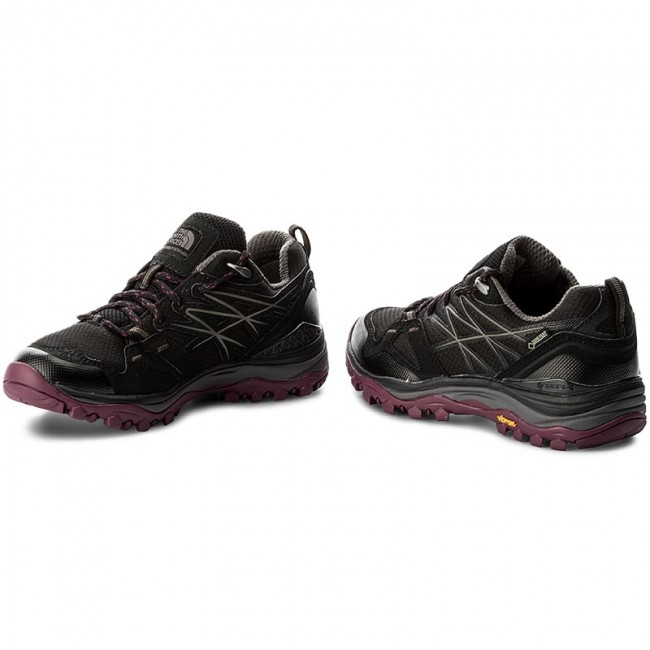 Trekkingschuhe THE NORTH FACE                                                      Hedgehog Fastpack GTX (EU) GORE-TEX T0CXT4ZFX  Tnf schwarz/Amaranth Purple 02b1c0