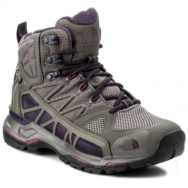 Trekkingschuhe THE NORTH FACE-Ultra Mid Gtx Surround Mid FACE-Ultra GORE-TEX T92T64YTG Dark Gull Grey/Amaranth Purple Werbe Schuhe 7c7d02