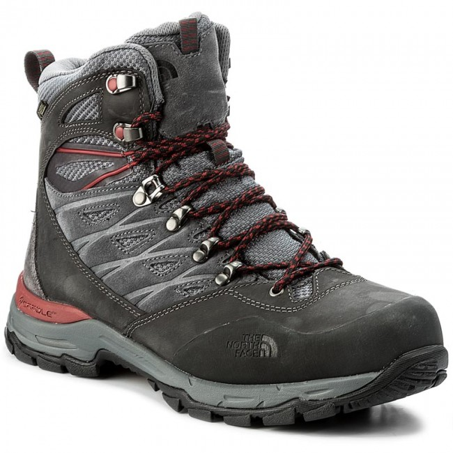 Trekkingschuhe THE NORTH FACE-Hedgehog Trek Gtx Grey/Rudy GORE-TEX T92UX1TCP Dark Shadow Grey/Rudy Gtx Red d9df5b