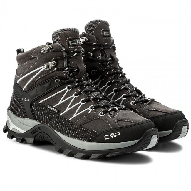 Trekkingschuhe CMP-Rigel Mid Trekking Grey Shoes Wp 3Q12947 Grey Trekking U862 4556f9