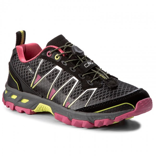 Trekkingschuhe CMP                                                    Atlas Wmn Trail Shoes 3Q95266  Nero/Rasperry/Acido 56AE