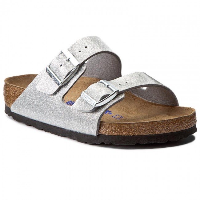 8c57493aa74dbb Pantoletten BIRKENSTOCK - Arizona Bs 0057651 Magic Galaxy Silver ...