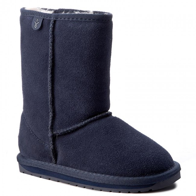 Schuhe EMU AUSTRALIA                                                      Wallaby Lo K10102 Midnight 55e8c2