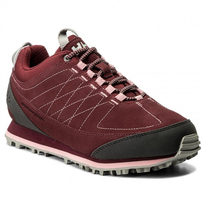 Trekkingschuhe HELLY HANSEN                                                      Vinstra 112-43.117 Port/Blush/Ebony/New Light Grau 5c1c7d