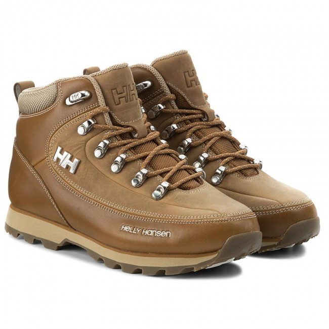 Trekkingschuhe HELLY  HANSEN     HELLY                                                W The Forester 105-16.731 Bone Braun/Incense/Off Weiß/Sperry Gum 086c34