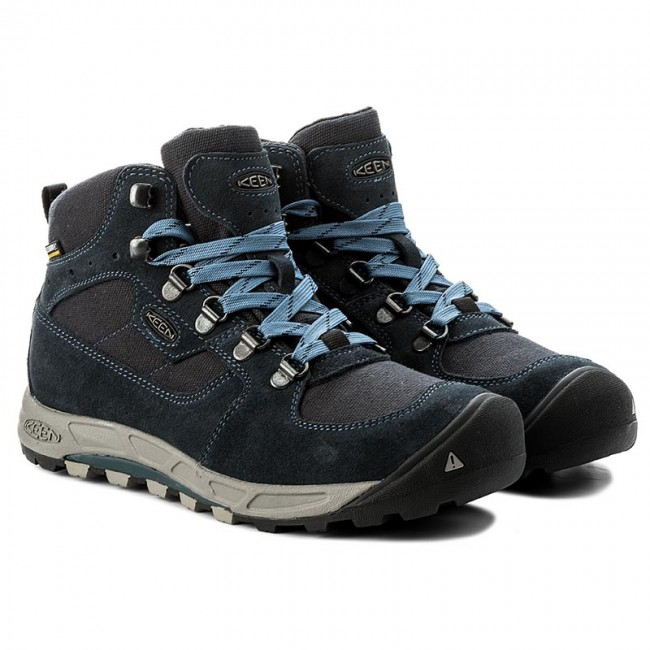 Trekkingschuhe KEEN                                                    Westward Mid Wp 1017008  Dark Sea/Bermuda