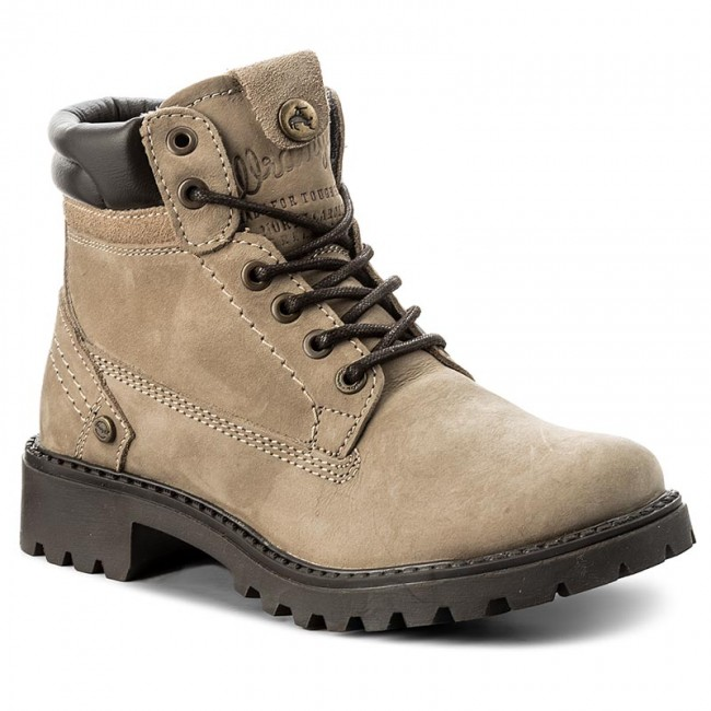 Trapperschuhe WRANGLER                                                      Creek WL172500 Taupe 29 2dec53