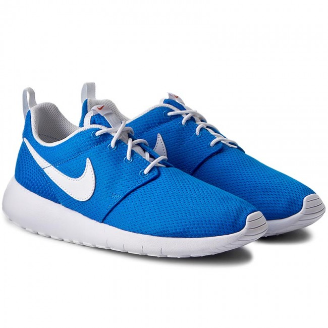 Schuhe 422 NIKE-Roshe One (GS) 599728 422 Schuhe Photo Blue/White/Safety Orange Werbe Schuhe 96829d