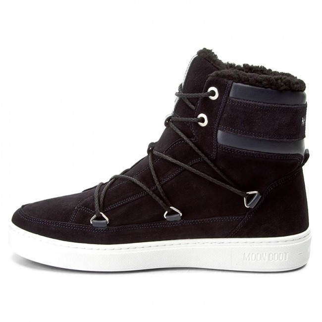 Schneeschuhe MOON Navy BOOT-Mercury Hight Paris 14100700 Navy MOON Blau c98ed4