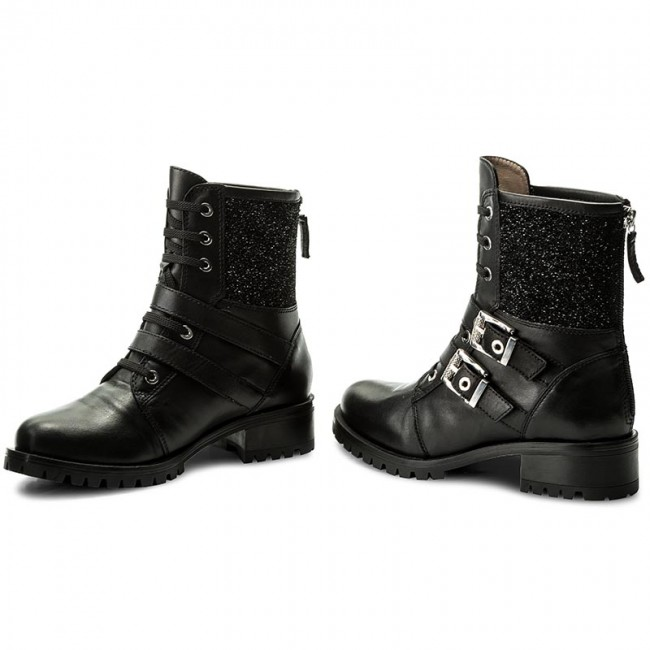 Stiefeletten UNISA Incisa Ri Spa Black