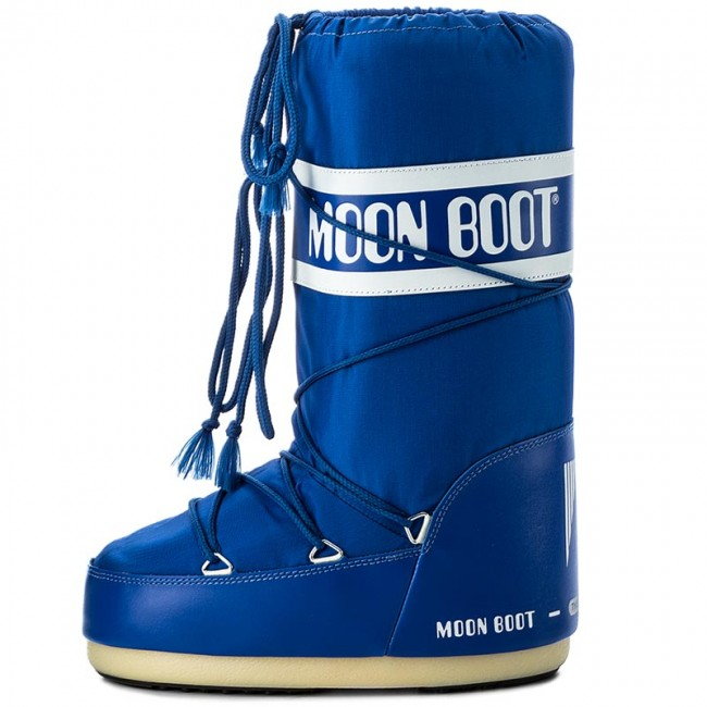 Schneeschuhe MOON BOOT                                                      Nylon 14004400075 Electric Blau D 6027db