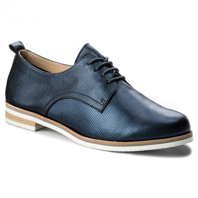 Oxfords CAPRICE  9-23200-20 Navy Perlato 807