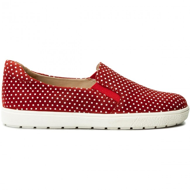 Turnschuhe CAPRICE       CAPRICE                                               9-24662-20 ROT Dots 521 53ea91