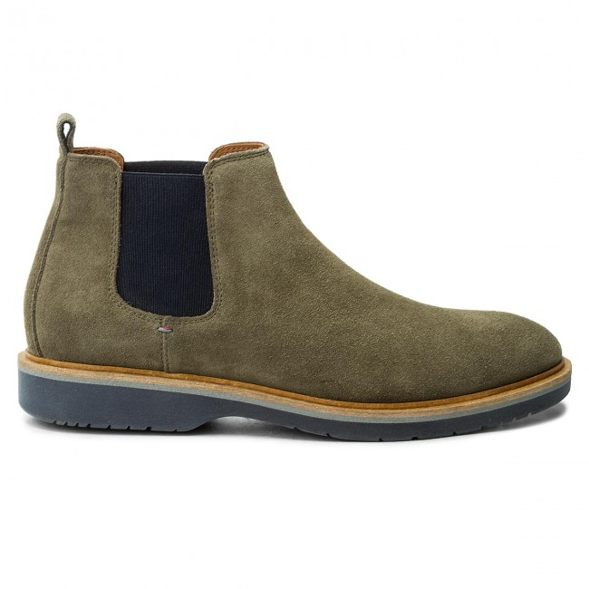 Stiefeletten TOMMY HILFIGER-Jacob Dusty 2B FM0FM01193 Dusty HILFIGER-Jacob Olive 011 104fe3