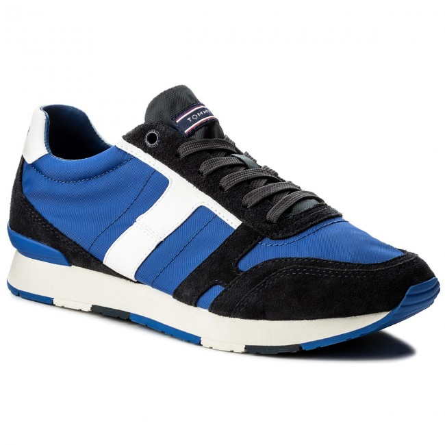 Sneakers TOMMY HILFIGER-Leeds 2C2 FM0FM01220 Midnight/Monaco Blue/White 904