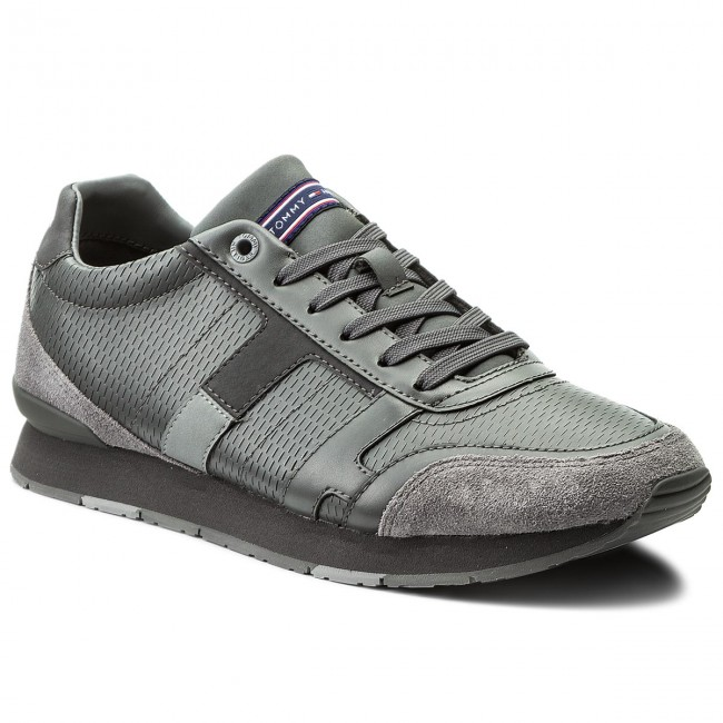 Sneakers TOMMY HILFIGER-Leeds 2C1 FM0FM01443 Steel Grey/Light Grey/Magnet 904