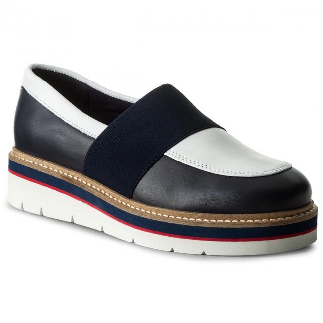 Halbschuhe TOMMY HILFIGER Manon 2A FW0FW02102 Tommy Navy 406