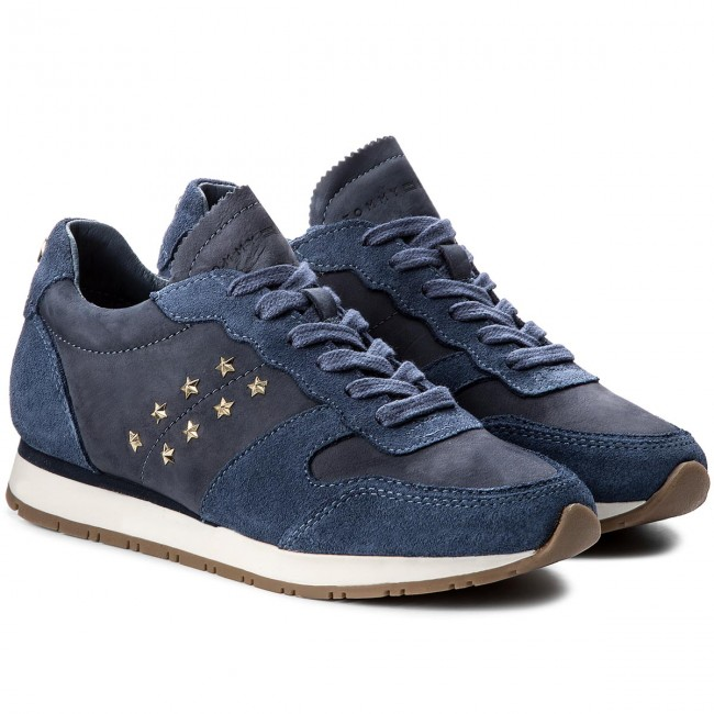 Sneakers TOMMY HILFIGER                                                    Izzy 2C FW0FW02595 Jeans 013