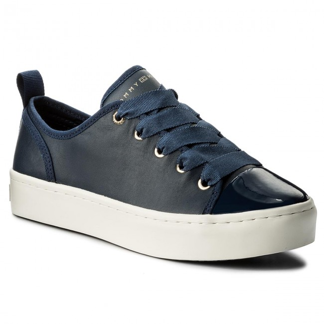 Sneakers TOMMY HILFIGER-Jupiter FW0FW02597 Tommy Navy 406 Werbe Schuhe