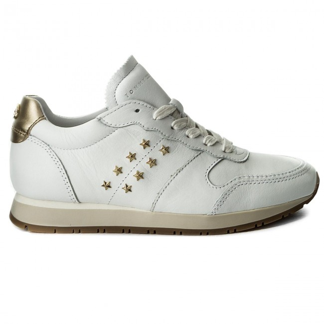 Sneakers TOMMY HILFIGER-Izzy FW0FW02619 2A FW0FW02619 HILFIGER-Izzy White 100 Werbe Schuhe 740976