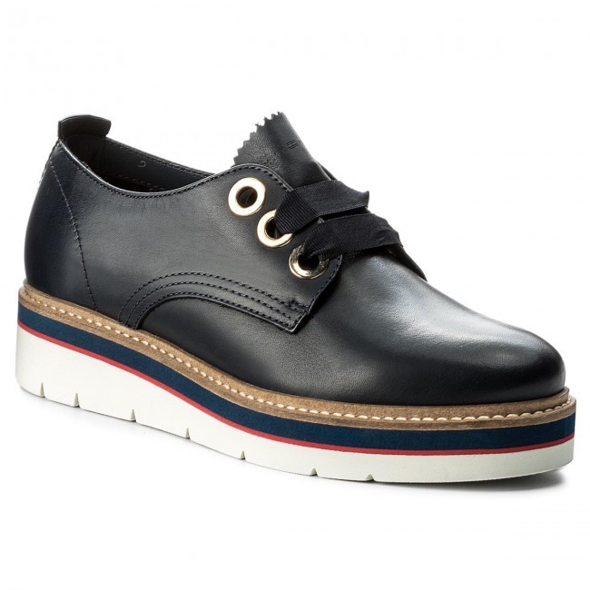 Oxfords TOMMY HILFIGER                                                    Manon 4A FW0FW02622 Tommy Navy 406